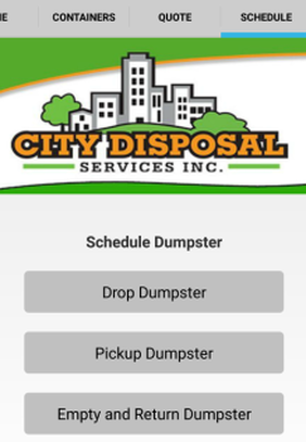 City Disposal Services