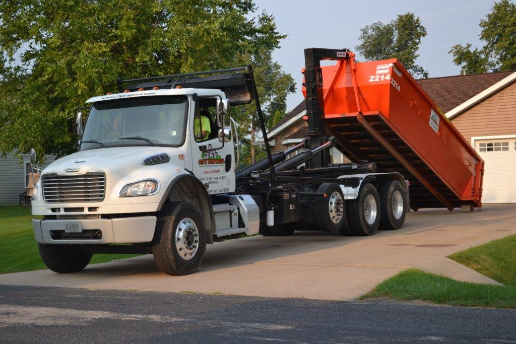 Dumpster Rental for Roofing
